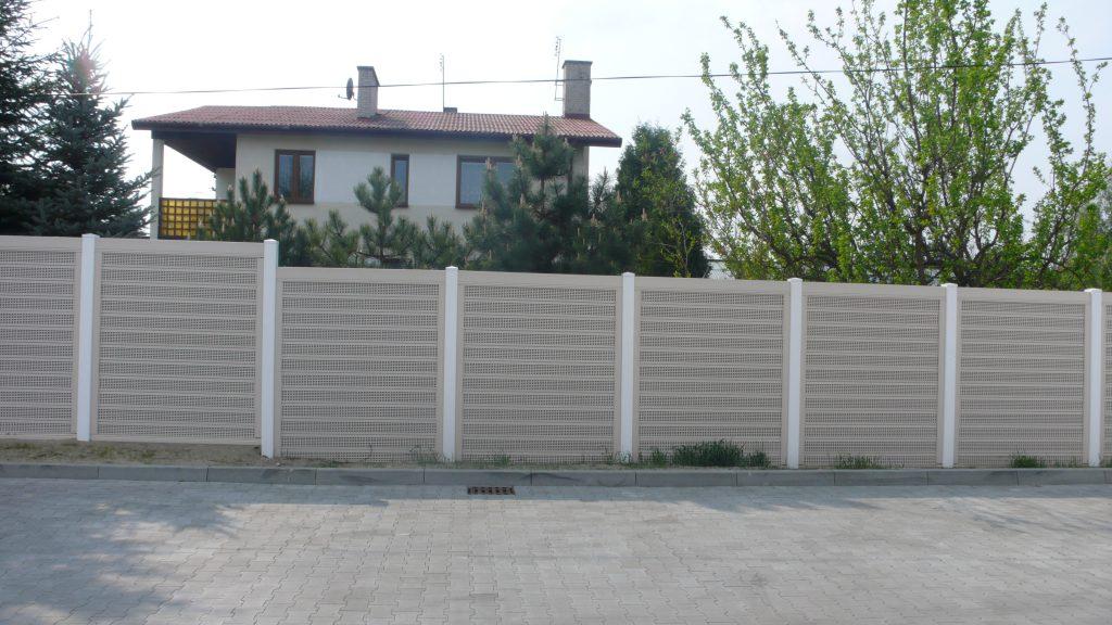 Ekrany akustyczne z ogrodzenia dzwiękoabsorbcyjnego